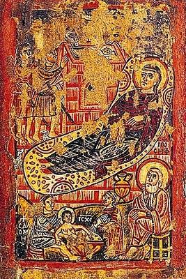 Φορητή εγκαυστική εικόνα, 8ος - 9ος αιώνας, Μονή Αγίας Αικατερίνης, Σινά
