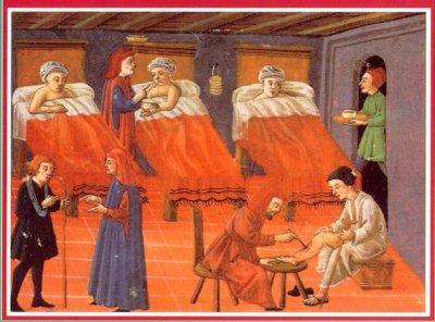 Θεραπεύοντας ασθενείς στο Salerno