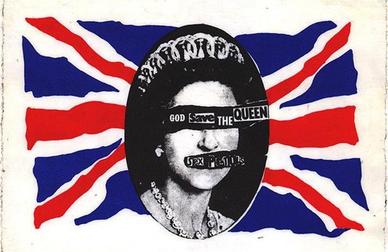 Sex Pistols - God Save the Queen.