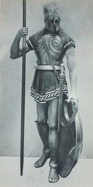 Σπαρτιάτης Οπλίτης: Ανατύπωση από τη Συλλογή Vinkhuijzen του περιοδικού of Military Costume Illustration