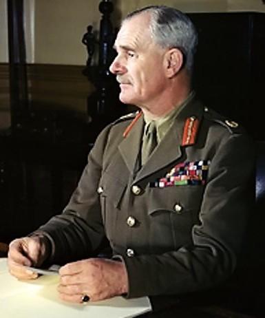 Φωτογραφία του Archibald Wavell, διοικητή των βρετανικών δυνάμεων στη Μέση Ανατολή