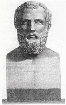 Προτομή του Αρχίλοχου - ρωμαϊκό αντίγραφο
