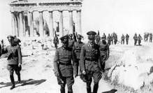 Γερμανοί αξιωματικοί στην Ακρόπολη