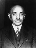 Παναγής Τσαλδάρης (1868 - 1936). Ηγέτης του Λαϊκού Κόμματος, μετριοπαθής πολιτικός που προσπάθησε να αμβλύνει την πολιτική όξυνση
