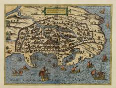 Χάρτης της Αλεξάνδρειας, Braun and Hogenberg's, Κολωνία 1572