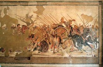 Ψηφιδωτό του Μεγάλου Αλεξάνδρου (Πομπηία), Εθνικό Αρχαιολογικό Μουσείο της Νάπολης