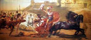 Ο Θρίαμβος του Αχιλλέα, Franz von Matsch, 1861 - 1942, Κέρκυρα (Αχίλλειο)