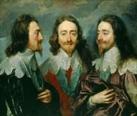 Κάρολος Α΄ της Αγγλίας σε τρεις πλευρές – από τον ζωγράφο του Anthony van Dyck