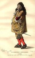 Ο αρχετυπικός αστος Monsieur Jourdain από το έργο του Le bourgeois gentilhomme (1670) του Molière.