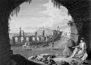 Ωδείο του Ηρώδη Αττικού, James Stuart - Nicholas Revett - The Antiquities of Athens II London 1787.