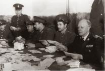 Αστυνομικοί στην υπηρεσία των δυνάμεων Κατοχής, ως απεργοσπάστες