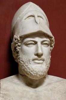 Περικλής (περίπου 495-429 π.Χ.)  Αρχαίος Έλληνας πολιτικός, ρήτορας και στρατηγός του 5ου αιώνα π.Χ.