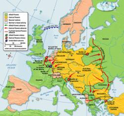 Α΄ Παγκόσμιος Πόλεμος 1914 - 1918