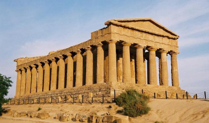 """Ναός της Ομόνοιας, """"κοιλάδα των ελληνικών ναών"""", Ακράγαντας"""