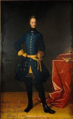 Πορτραίτο του Καρόλου ΙΒ΄ από τον Άξελ Σπάρρε