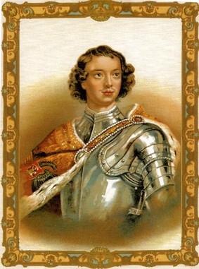 Νεανικό πορτραίτο του Μεγάλου Πέτρου (από το λεύκωμα του Αντωνίου Αιμ. Ταχιάου, Η Ρωσία της δυναστείας των Ρομανώφ)