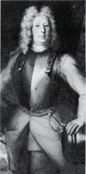 Ο κόμης Λέβενχαουπτ, διοικητής του σουηδικού πεζικού, σε πίνακα του D. Richter
