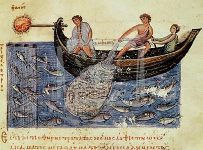 Ψαράδες στη βυζαντινή εποχή