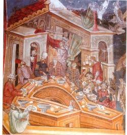 Λουκούλειο συμπόσιο σε βυζαντινό αρχοντικό