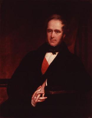 Πορτραίτο του Λόρδου Πάλμερστον (1845), σήμερα φυλάσσεται στη National Portrait Gallery, στο Λονδίνο