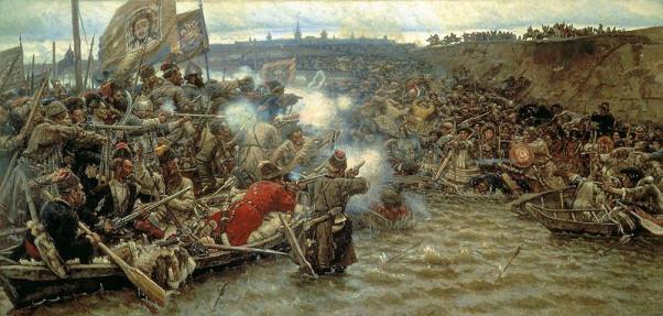 Η κατάκτηση της Σιβηρίας από τον Ερμάκ (έργο του Vasily Surikov)