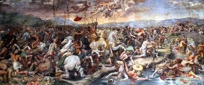 Τζούλιο Ρομάνο - Η νίκη του Μ. Κωνσταντίνου επί του Μαξεντίου στη Μουλβία Γέφυρα, 312 π.Χ. - Αίθουσα Κωνσταντίνου / Βατικανό