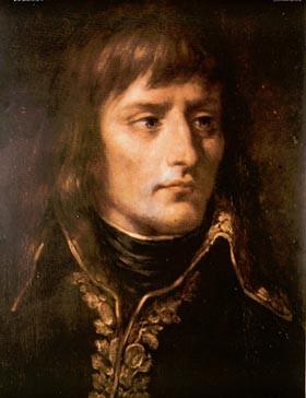 O Ναπολέων Βοναπάρτης σε πορτραίτο, όταν ήταν νεαρός αξιωματικός του γαλλικού στρατού