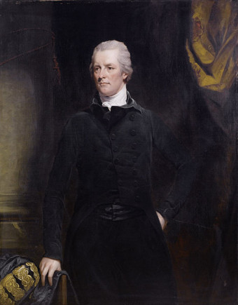 Πορτραίτο του Bρετανού πρωθυπουργού William Pitt, πίνακας του John Hoppner
