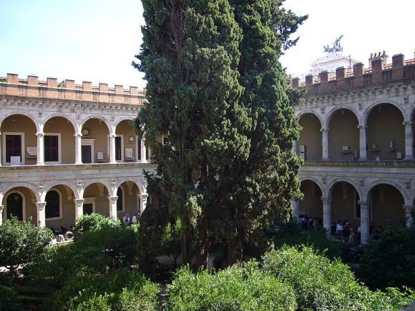 Το Palazzo Venezia στη Ρώμη, η αυλή του Palazzetto
