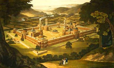 Η ιδανική πολιτεία, όπως την οραματιζόταν ο Ρόμπερτ Όουεν, αποτυπώνεται σε πίνακα εποχής από τον F. Bate
