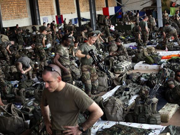 Σημείο συγκέντρωσης γαλλικών στρατευμάτων στο Μαλί