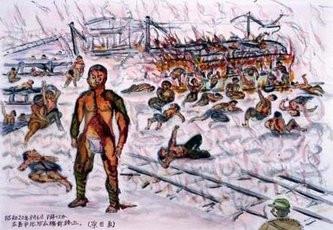 Σχέδια επιζόντων παιδιών της ατομικής έκρηξης αποτυπώνουν την εφιαλτική ατμόσφαιρα που επικρατεί (Hiroshima Peace Memorial Museum)