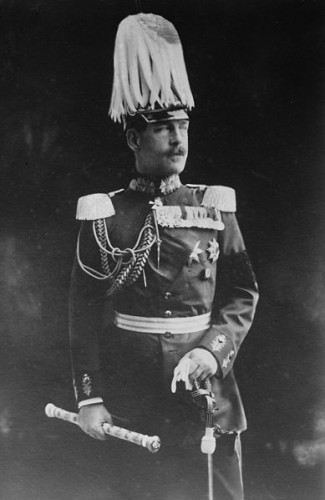 Ο Διάδοχος Κωνσταντίνος με γερμανική στολή