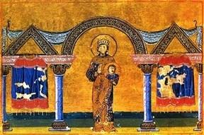 Η Θεοδώρα στο ''Μηνολόγιο'' του Βασιλείου Β΄