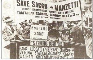 Διαμαρτυρίες υπέρ των Σάκκο και Βαντσέτι, Λονδίνο 1921