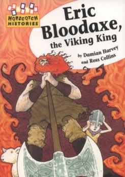 Εξώφυλλο παιδικού βιβλίου με θέμα την ιστορία του Έρικ με τον ματωμένο πέλεκυ