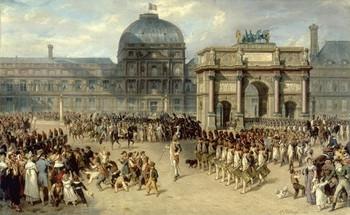Πίνακας του Hippolyte Bellangé: Μέρα επιθεώρησης 1810
