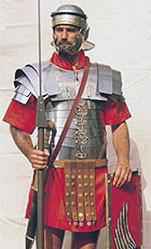 Σύγχρονη αναπάρασταση Ρωμαίου λεγεωνάριου