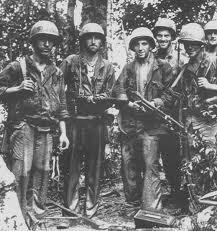 Αμερικανοί στρατιώτες στη Βιρμανία κατά τον Β' ΠΠ