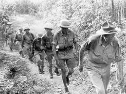 Βρετανική στρατιωτική μονάδα στις ζούγκλες της ΝΑ Ασίας