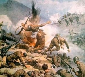 Εικόνες ελληνο-ιταλικού πολέμου. Οι μάχες στην Πίνδο ήταν ιδιαίτερα σκληρές