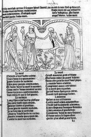 Μακάβριος Χορός - Ο γιατρός και ο εραστής, 1486