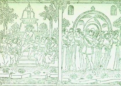Εικόνα από ένα αντίγραφο του Δεκαήμερου, περ. 1492